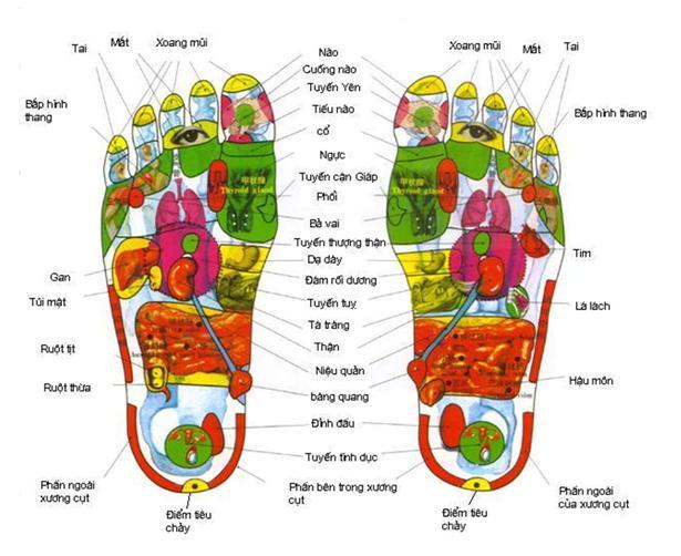 massage chân sức khỏe quận 7