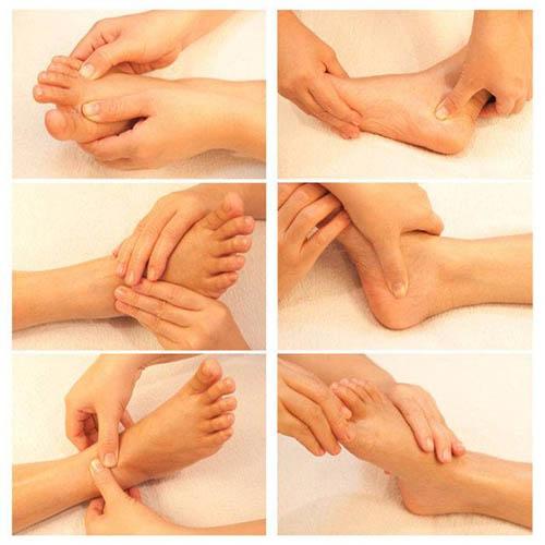 massage chân ở sài gòn